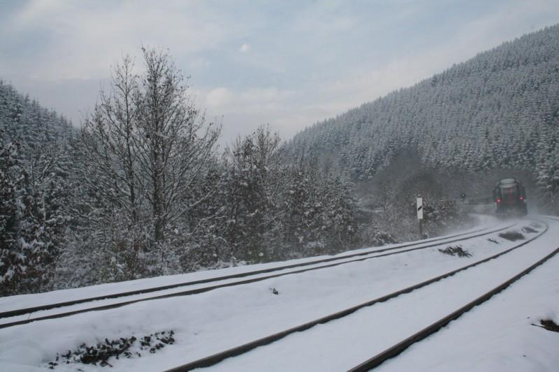 Larrière du train