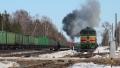 Entre Daugavpils et Indra avec les 2TЭ10 des БЧ
