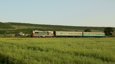 Suivi du train 6276 Cahul – Basarabeasca (MD)