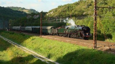Retour du Savoie Vapeur Express 2013