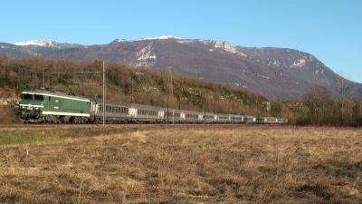 Le Train des Lumières avec la CC 6558