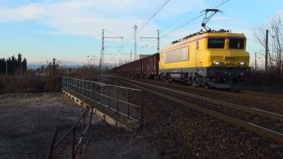Quelques trains autour de Lyon (BB 26063, BB 26160, TTX)