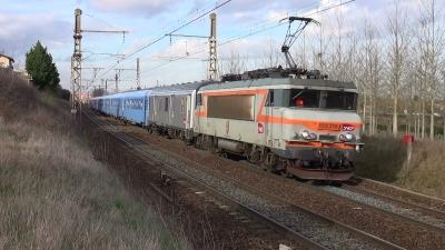 Le train de Wendy et Nicolas entre Dijon et Saint-Etienne, municipales 2014