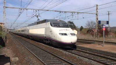 AVE24 & AVE23 RENFE en retour d'essais LGV RR