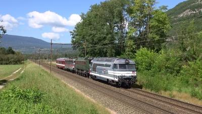 Acheminement Locomotives historiques de la SNCF