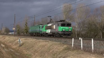 La CC7102 retourne sur Chambéry